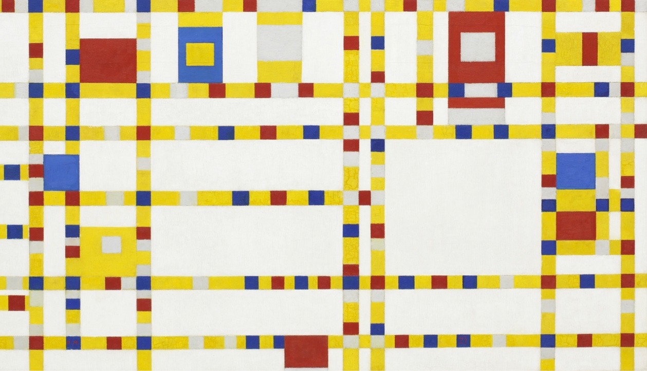 Broadway Boogie Woogie by P Mondrian Crop for What's On